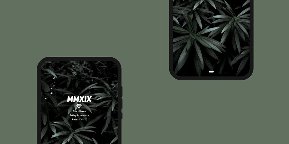 Homescreen MMXIX