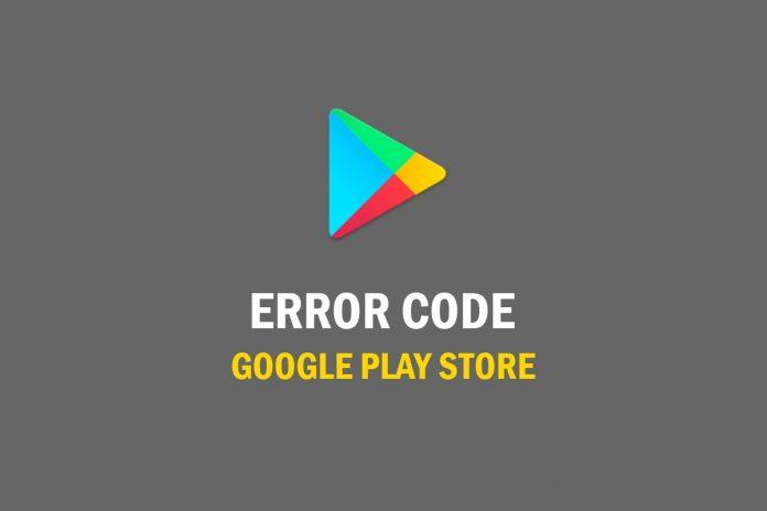 Play-Store-ERROR-CODE