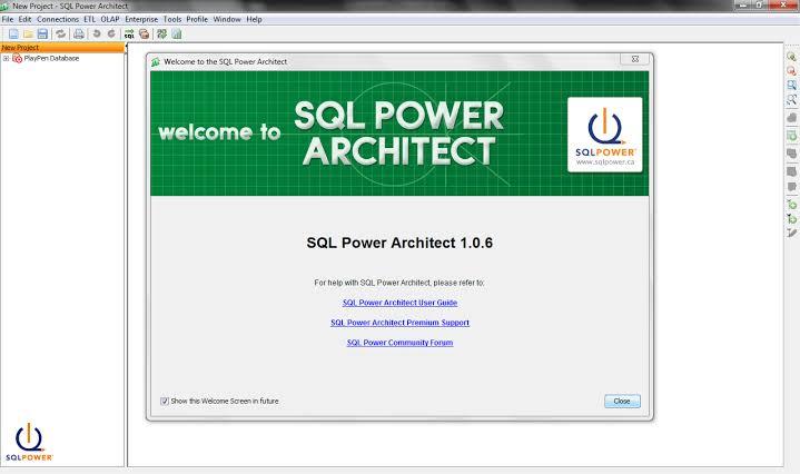 SQL Power Architect