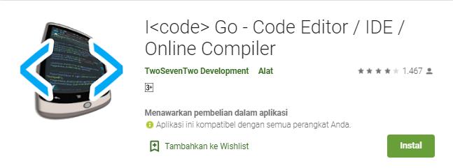 Aplikasi I Code Go